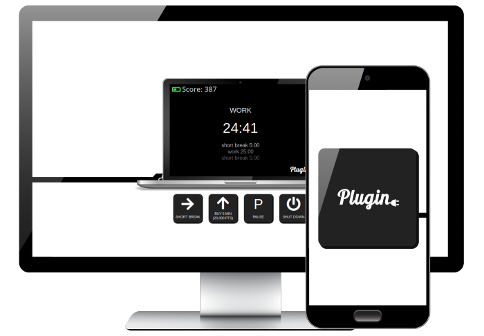 Desktop and mobile view of Plugin